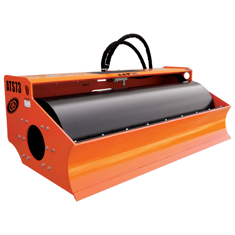 skid steer vibratory roller