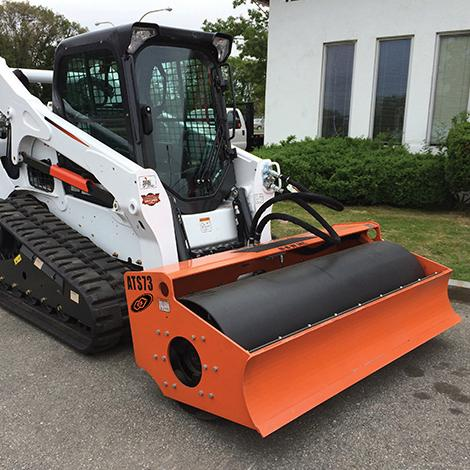 Skid Steer Roller Attachments | MBW Inc