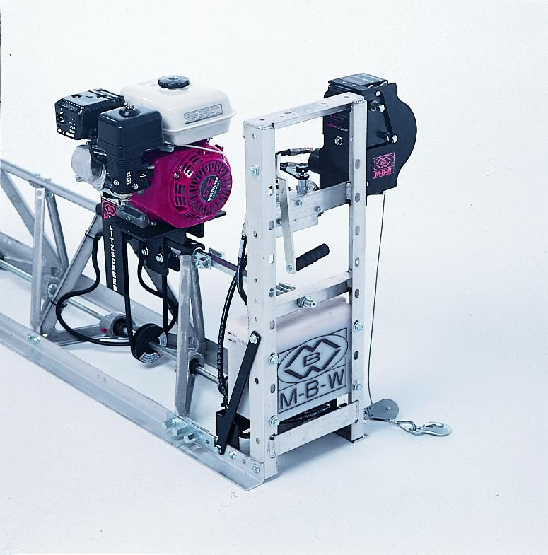 MBW Power Winch for vibratory truss screeds