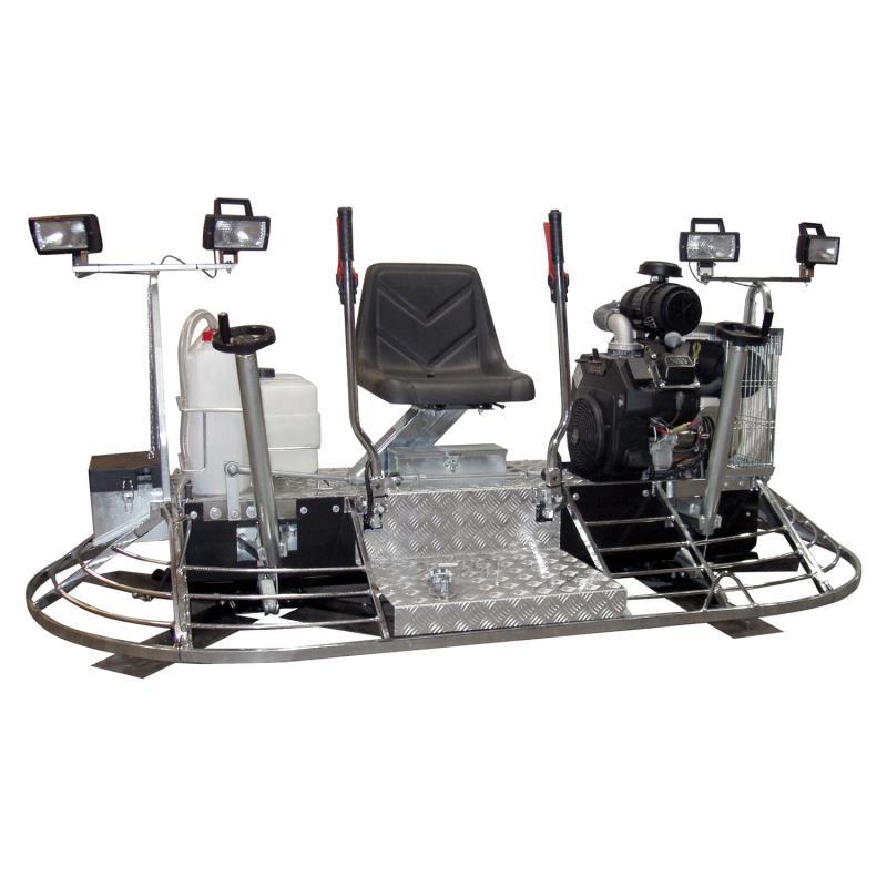 MK8-120 Manual Steering ride-on trowel