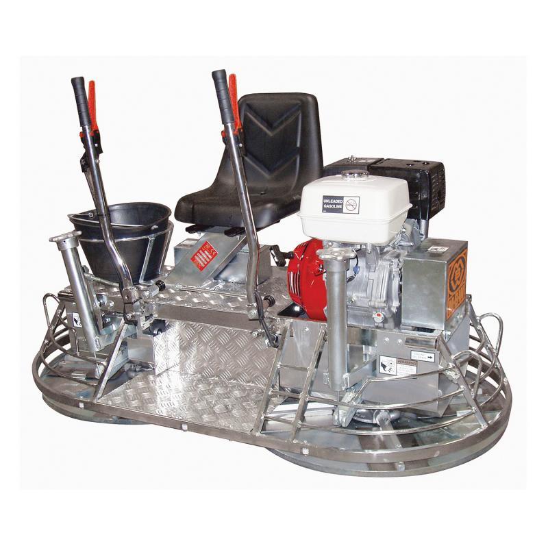MK8-75 manual steering ride-on trowel