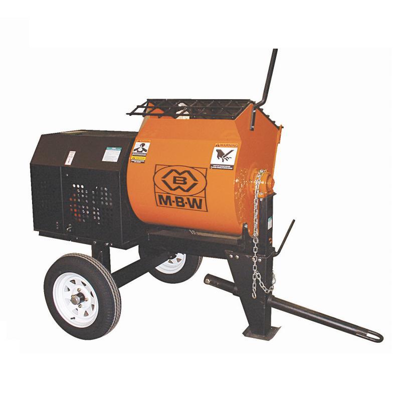 MBW Mortar & Plaster Mixers