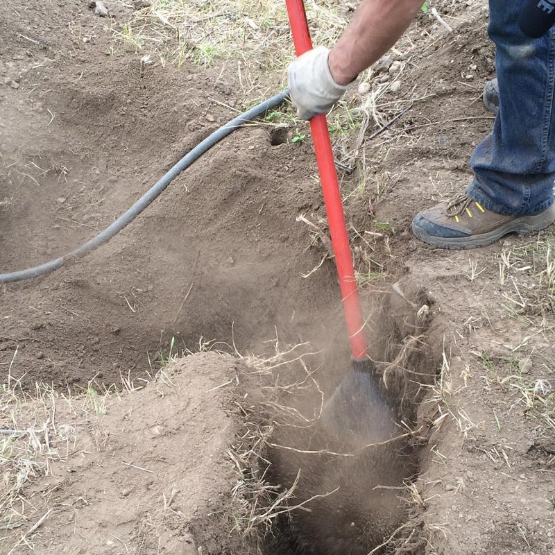 Pneumatic soil excavators mbw inc for Utility of soil