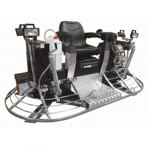 MK8-121 hydraulic steering ride-on trowel